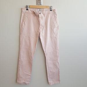 Pink Mens Chinos 33x30